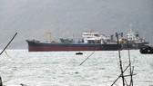 """Vật thể """"lạ"""" chìm ở luồng vào cảng Quy Nhơn có thể là xà lan"""