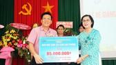 2,3 tỷ đồng ủng hộ Trung tâm Nuôi dạy trẻ khuyết tật Võ Hồng Sơn
