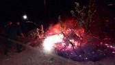 Cháy rừng bạch đàn tại Bình Định cũng do đốt rác