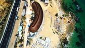 Cận cảnh 2 khu resort vừa bị thổi phạt dọc bờ biển Quy Nhơn