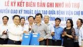 Bệnh viện Chợ Rẫy ký kết hỗ trợ Bệnh viện Đa khoa Bình Định