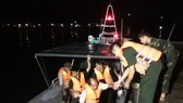 Va vào xác tàu đắm, tàu cá chìm trên vịnh Quy Nhơn