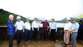 Kiểm tra ứng phó với áp thấp, mưa lũ tại tỉnh Bình Định