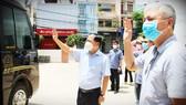 Bình Định tiếp tục tăng cường y bác sĩ vào TPHCM tham gia chống dịch
