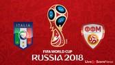 Bảng G: Italia - FYR Macedonia1-1: Hòa không tưởng