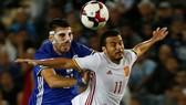Bảng G: Israel - Tây Ban Nha 0-1: Bò tót bất bại