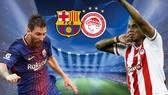 Bảng D: Barcelona - Olympiacos 3-1: Thua người vẫn thắng