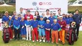 """Chương trình """"Tập huấn Golf Truyền cảm hứng"""" cho 20 tay golf trẻ tài năng Việt."""