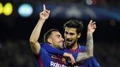 Bảng D: Barcelona - Sporting CP 2-0: Messi dự bị nhưng Barca vẫn thắng