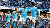 Man.City - AFC Bournemouth 4-0: Man xanh lập kỷ lục 18 trận thắng