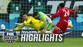 """Wolfsburg - Bayern Munich 1-2: Robben hỏng phạt đền, """"Hùm xám"""" thắng phút bù giờ"""