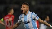 Lazio - FC FCSB 5-1 (chung cuộc 5-2): Immobile lập hatttrick, Lazio lật ngược tình thế