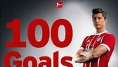 Bayern Munich - Hamburger SV 6-0: Lewandowski cán mốc 100 bàn, Bayern chạm tay Cúp