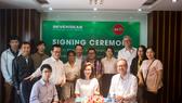 Lễ ký kết hợp tác đầu tư chiến lược, phát triển Chatbot Ẩm thực đầu tiên tại Đà Nẵng