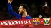Barcelona - Leganes 3-1: Messi lại lập hattrick