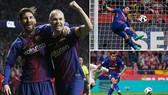 Sevilla - Barcelona 0-5: Barca san bằng kỷ lục giành bốn Cup nhà vua liên tiếp