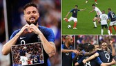 Pháp - CH Ailen 2-0: Giroud, Fekir khoe tài