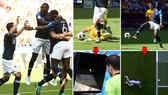 Pháp - Australia 2-1: Griezmann ghi bàn, Pogba kịp giải nguy