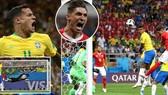 Brazil - Thụy Sĩ 1-1: Coutinho ghi bàn, Steven Zuber gỡ hòa đẹp mắt