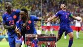 Bảng H, Ba Lan - Colombia 0-3: Mina, Falcao, Cuadrado gieo hy vọng cho Colombia