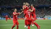 Bảng E, Thụy Sĩ - Costa Rica 2-2: Kịch tính đến phút chót, Thụy Sĩ đi tiếp vòng 16