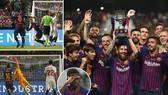 Sevilla - Barcelona 1-2: Barca 13 lần đăng quang