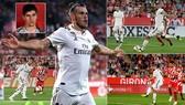 Girona - Real Madrid 1-4: Benzema lập cú đúp, Ramos, Gareth Bale cũng khoe tài