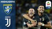 Frosinone - Juventus 0-2: Ronaldo giải vận, Bernardeschi ấn định chiến thắng