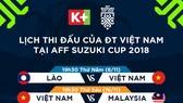 Đồng hành tuyển Việt Nam, K+ phát sóng AFF Suzuki Cup 2018