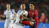 CH Séc - Slovakia 1-0: Tiền đạo AS Roma Patrik Schick lập công