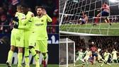 Atletico Madrid - Barcelona 1-1: Vô hiệu Messi, Suarez, Barca suýt mất ngôi đầu
