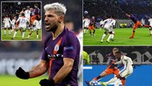 Lyon - Man City 2-2: Cornet lập cú đúp, Laporte, Aguero tỏa sáng níu chân chủ nhà