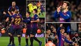 Barcelona - Villarreal 2-0: Pique, Alena lập công, Barca tạm đòi lại ngôi đầu