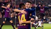 Barcelona - Leonesa 4-1: Dàn sao trẻ Munir, Denis Suarez, Malcom khoe tài