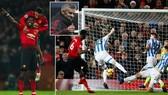 Man United - Huddersfield 3-1: Matic mở màn, Pogba xuất thần, HLV Solskjaer tặng quà Boxing day