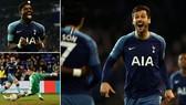 Tranmere Rovers - Tottenham 0-7: Serge Aurier, Llorente, Son Heung Min, Harry Kane khoe tài