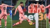 Getafe - Barcelona 1-2: Song tấu Messi - Suarez tỏa sáng