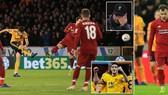 Wolverhampton - Liverpool 2-1: Raul Jimenez, Ruben Neves loại HLV Jurgen Klopp khỏi FA Cup