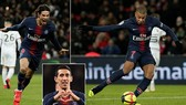 PSG - Rennes 4-1: Vắng Neymar, tam tấu Cavani, Di Maria, Mbappe lập công
