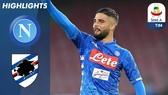 "Napoli - Sampdoria 3-0: Arek Milik, Lorenzo Insigne, Simone Verdi thi tài ""bắn phá"""