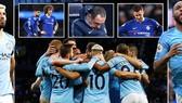 "Man City - Chelsea 6-0: Aguero, Sterling, Gundogan lập công, Pep Guardiola ""xé lưới"" Maurizio Sarri"