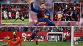 Sevilla - Barcelona 2-4: Messi lập hattrick, Suarez cũng tỏa sáng