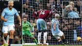 Man City - West Ham 1-0: Aguero ghi bàn trên chấm 11m, HLV Pep Guardiola bám đuổi Jurgen Klopp