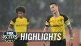 """Augsburg - Dortmund 1-2: """"Cố nhân"""" Dong-Won Ji gieo sầu HLV Lucien Favre"""