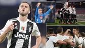 Napoli - Juventus 1-2: Pjanic, Emre Can ghi bàn, Juve bất bại, trọng tài Rocchi rút 2 thẻ đỏ