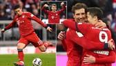 Bayern Munich - Wolfsburg 6-0: Gnabry, Lewandowski, Rodriguez, Muller, Kimmich vùi dập đối thủ