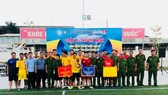 Liên quân cơ quan, đội đặc nhiệm - nghi lễ đăng quang giải bóng đá mừng ngày thành lập Đoàn