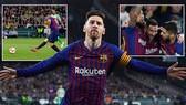 Real Betis - Barcelona 1-4: Siêu sao Messi lập hattrick, Suarez cũng khoe tài, Barca vững ngôi đầu