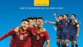 U23 VIỆT NAM - U23 THÁI LAN | BẢNG K - VÒNG LOẠI U23 CHÂU Á 2020