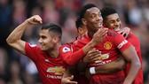 Man United - Watford 2-1: Rashford, Martial tỏa sáng, HLV Solskjaer tạm trở lại tốp 4